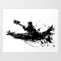 Kayakers Kayak Art Print