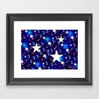 Seeing Stars Framed Art Print