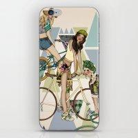 Bike Girls iPhone & iPod Skin
