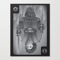 The King Of Siths Canvas Print