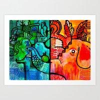 Snout Art Print
