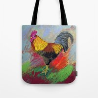 Rooster-3/  Tote Bag