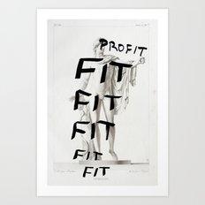 Strike 41 (Profit) Art Print