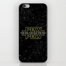 Pew Pew v2 iPhone & iPod Skin