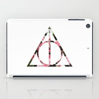 The Girly & Deathly Hall… iPad Case