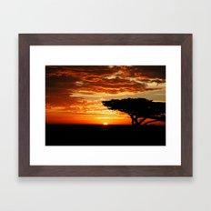 Firey Dragon  Framed Art Print