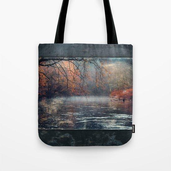 between fall & winter Tote Bag