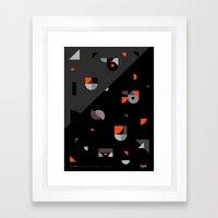 Pursue Framed Art Print