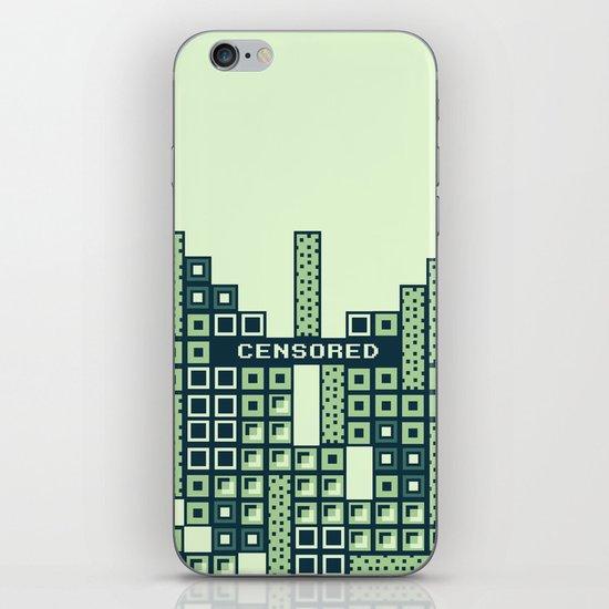 tantric tetris. iPhone & iPod Skin