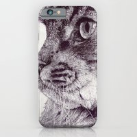 iPhone & iPod Case featuring Big Cat by ClaM