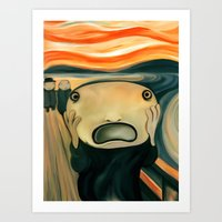 The Scream Art Print