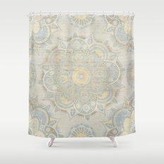 Vintage Mandala Shower Curtain
