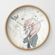 My Heart Carries Me Through Wall Clock
