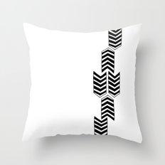 ARROW RAIN Throw Pillow