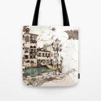 Vivaldi's morning in Venice Tote Bag