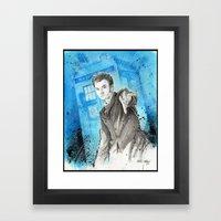 Doctor Who: The 10th Doc… Framed Art Print