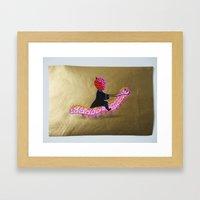 My Favorite Horse Caterp… Framed Art Print