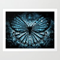 My Blue Butterfly Art Print