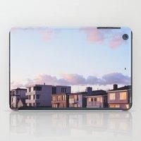 Midcentury Style Homes along the Beach, Sunset Beach, California iPad Case