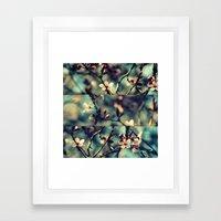 Vintage Blossoms - Triptych Framed Art Print