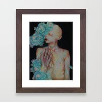 The One Who Once Covered… Framed Art Print