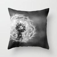 Wispy Throw Pillow