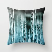 Kyanite Throw Pillow