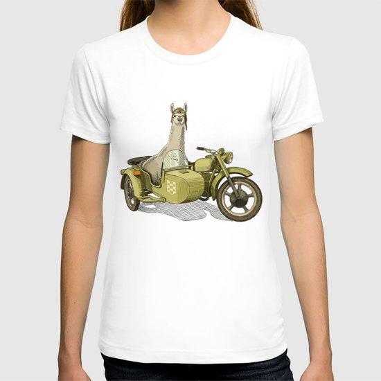 Sidecar Llama T-shirt