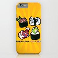 Super Mario Sushi iPhone 6 Slim Case