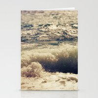 autumn sea Stationery Cards