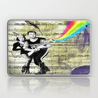 Conquering The Universe Laptop & iPad Skin