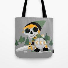 Skull Sword Guy Tote Bag