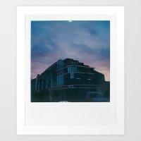 Ritz, Lincoln Art Print
