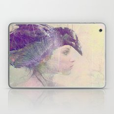 The witch crow Laptop & iPad Skin