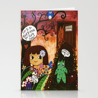 Hell is calling Stationery Cards