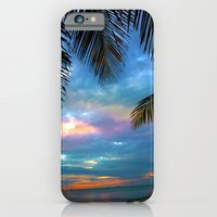 iPhone & iPod Case featuring Palm Curtains by Susanne Van Hulst
