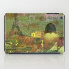 On The Roofs Of Paris iPad Case