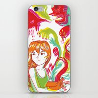 Pop Goes Disaster iPhone & iPod Skin