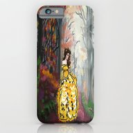 Belle In The Enchanted F… iPhone 6 Slim Case
