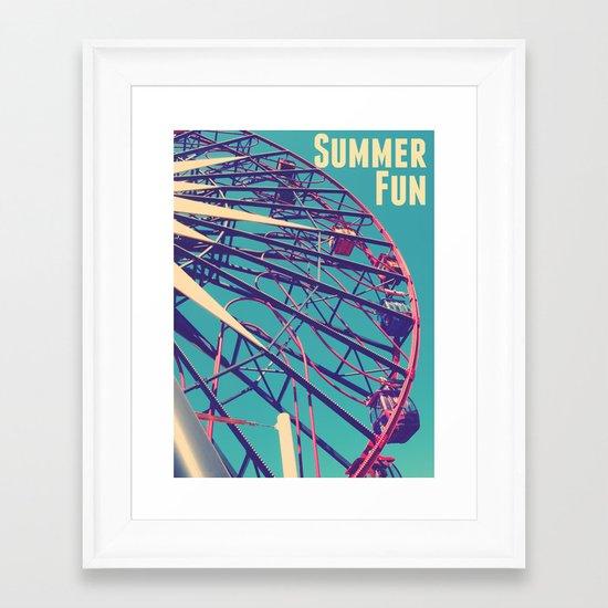 Summer Fun Framed Art Print