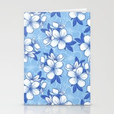 Modern Spring Flower Pat… Stationery Cards