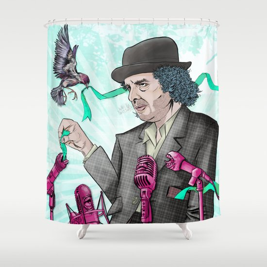 I'm Exhausted from Trying to Believe Unbelievable Things Shower Curtain