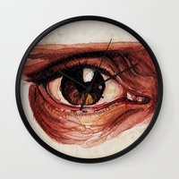 Suffered look Wall Clock