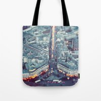 Paris, City Of Lights. Tote Bag