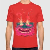 Fisgados Mens Fitted Tee Red SMALL