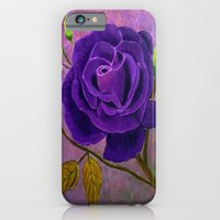 Purple Rose  iPhone 6 Slim Case