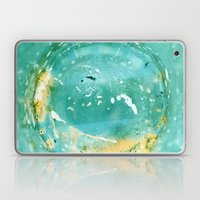 Blue Fantasy Planet Laptop & iPad Skin