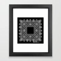Shakespeare's Lace Framed Art Print