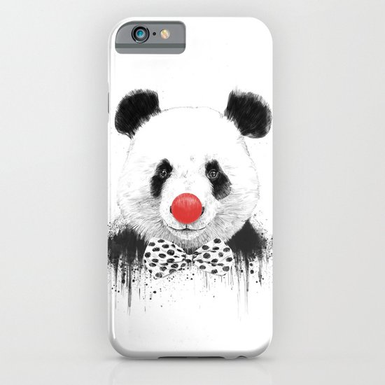 Clown panda iPhone & iPod Case