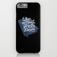 iPhone & iPod Case featuring Library by WEAREYAWN